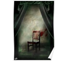 Composition with a chair Poster