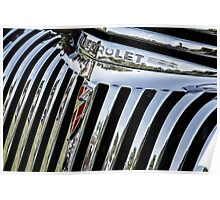 1946 Chevrolet Grill Poster