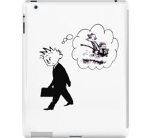 Old Calvin, Good Memories - Calvin & Hobbes iPad Case/Skin