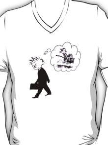 Old Calvin, Good Memories - Calvin & Hobbes T-Shirt