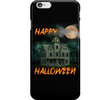 Haunted Mansion - Happy Halloween iPhone Case/Skin