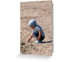 A Grain Of Sand Greeting Card