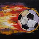 Soccer by Michael Creese