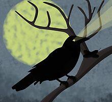 Shadow Crow by NirPerel