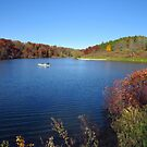 One Lake, One Boat by lorilee