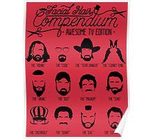 TV Facial Hair Compendium Poster