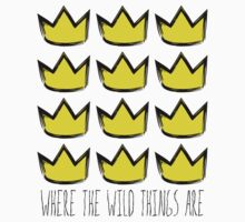 Where the Wild Things Are - Crowns Cutout Kids Clothes