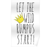 Where the Wild Things Are - Rumpus Start Crown Cutout Poster