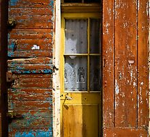 French door with shutters by KSKphotography