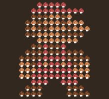 Mario Mushroom Mosaic by momboy
