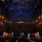 Halloween Great Hall by Serdd