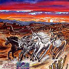 the unicorns of voran's canyon by LoreLeft27