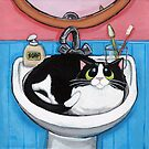 Sink Cat by Lisa Marie Robinson