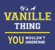 It's A VANILLE thing, you wouldn't understand !! by satro