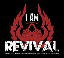 I Am Revival - Red Angel Version Merch by exodusrising