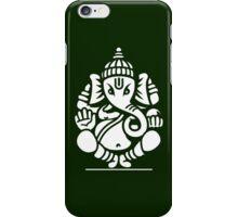 Ganesh Ganesa Ganapati 4 (white) iPhone Case/Skin