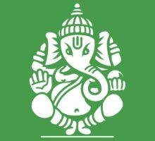 Ganesh Ganesa Ganapati 4 (white) Kids Clothes