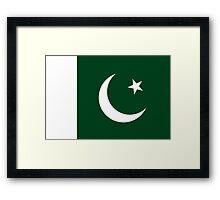 Pakistan - Standard Framed Print