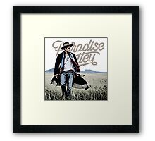 JOHN MAYER PARADISE VALLEY Framed Print