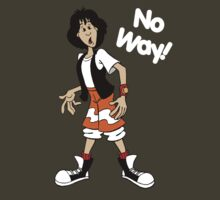Bill and Ted - Ted - No Way - White Font by DGArt