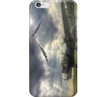 The Prince`s Break - The 3 Lancasters East Kirkby - HDR iPhone Case/Skin