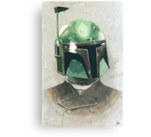 Formal Boba Fett Canvas Print