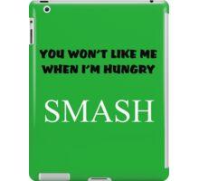 Incredible Hulk Quote and Smash iPad Case/Skin