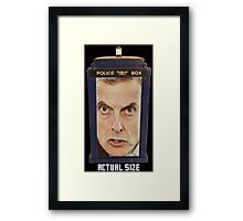 Doctor in a Box Framed Print