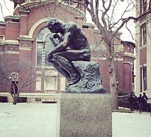 The Thinker, Columbia Campus by Lagoldberg28