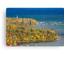 Au Sable Point Lighthouse Canvas Print