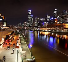 Melbourne South bank by BeninFreo