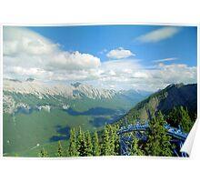From Sulphur Mountain, High Rockies, Midsummer 1993 Poster