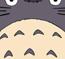 Totoro - Big Totoro is big Sticker