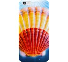 Shell in water back ground iPhone Case/Skin