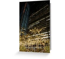 Millions of Christmas Lights in the Heart of Manhattan, New York City Greeting Card