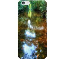 Streaming Light in the Forest iPhone Case/Skin