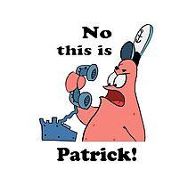 This is Patrick Photographic Print