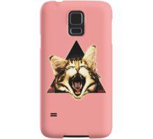 Kitten Triangle Samsung Galaxy Case/Skin