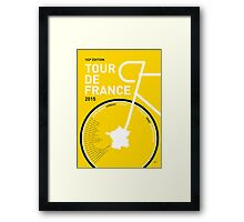 My Tour de France Minimal poster Framed Print