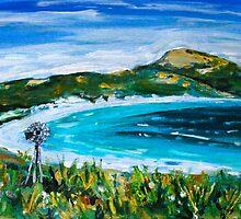 Lucky Bay Esperance by Jen  Biscoe