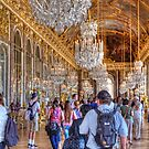 Inside the Palace of Versailles, France by Elaine Teague
