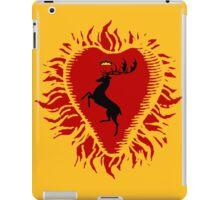 Stannis Baratheon Sigil - Firey Heart iPad Case/Skin