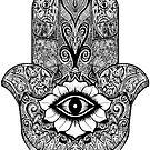 Khamsa - Hand of Fatima  by Selfcontrol