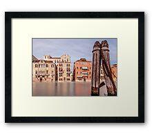 Ghostly Venice Framed Print