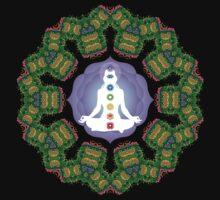 Psychedelic jungle kaleidoscope ornament 23 T-Shirt