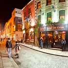 Night Out In Temple Bar - Dublin Ireland by Mark Tisdale