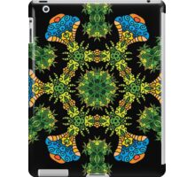 Psychedelic jungle kaleidoscope ornament 27 iPad Case/Skin