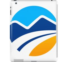 abstract-mountain logo iPad Case/Skin