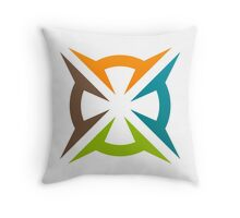 abstract-decoration-logo Throw Pillow