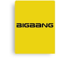 Big Bang 1 Canvas Print